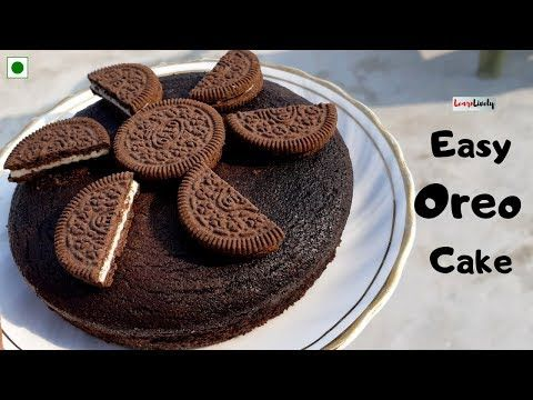 कढ़ाई मे बनाये Easy Oreo Cake Oreo Cake Recipe In Hindi