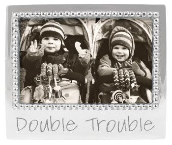 """Statements """"Double Trouble"""" Picture Frame"""