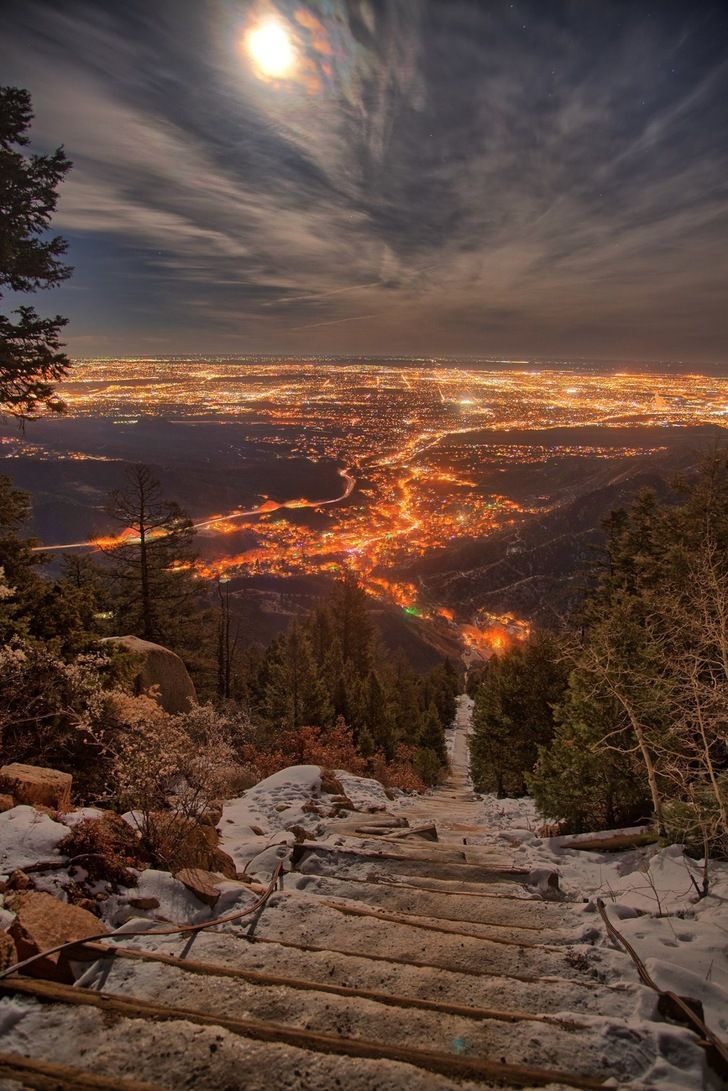 the incline colorado springs co by reece hein in 2019 travel rh pinterest com