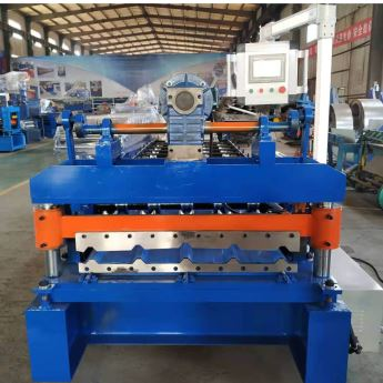 Oem Trapezoidal Roof Roll Forming Machine In 2020