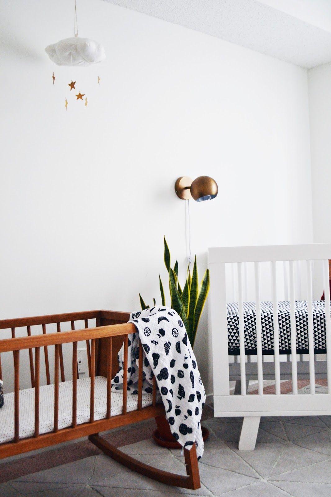 xo, mrs measom minimal minimalist nursery little girl nursery