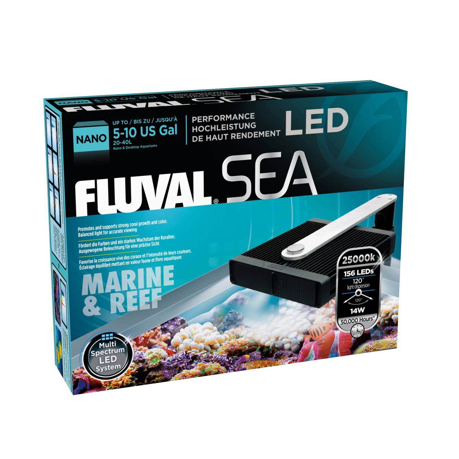 Led Licht Für Nano Aquarium Fluval Sea Marine Reef Led Nano Aquarium Lamp 6