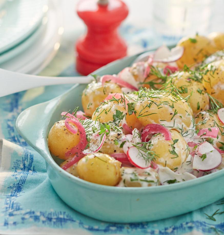Recipe For Light Potato Salad