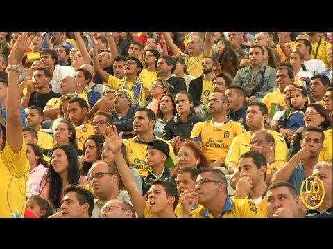 Afición: UD Las Palmas 2 - 0 UE Llagostera.
