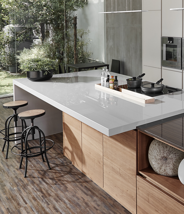 Kitchen Counter Surfaces #36 - Geoluxe Pyrolithic Stone™ Kitchen Countertops At Ciot | A Mix Of  Mineral-based Materials Combine To Form This Durable Kitchen Countertop  Surface.