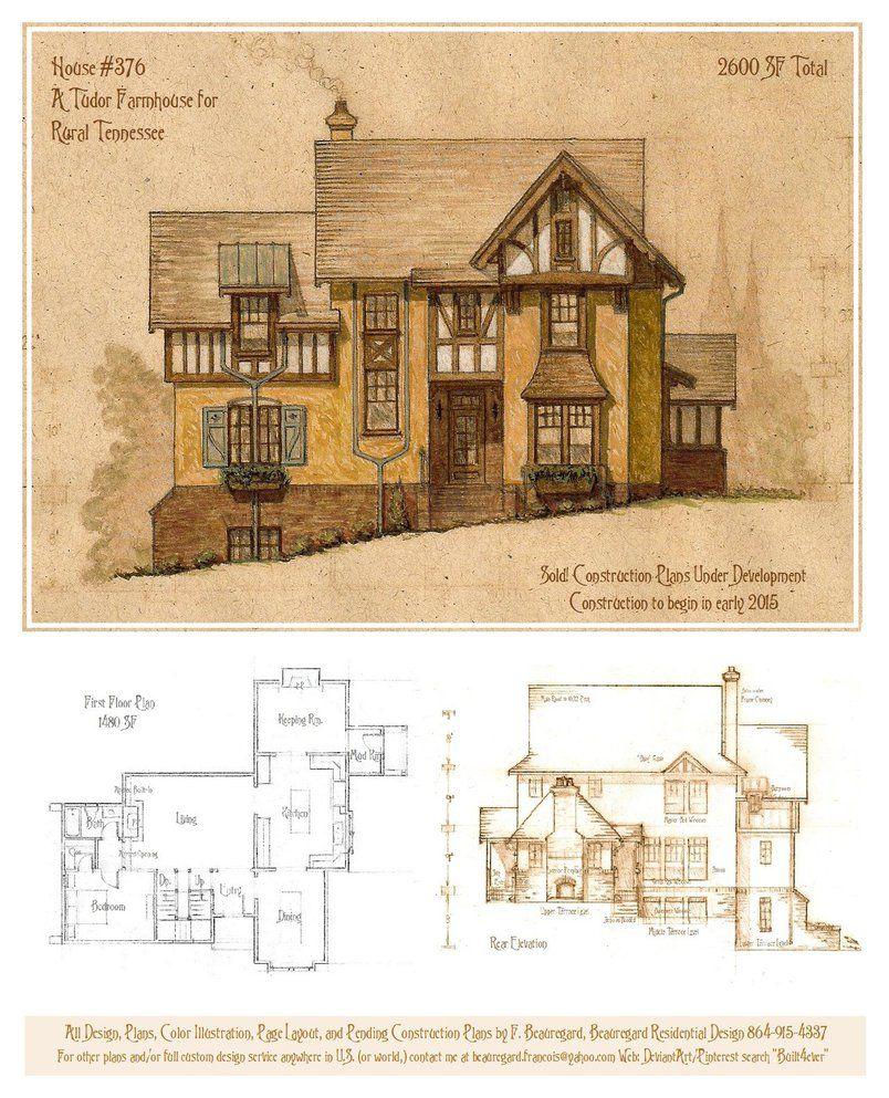 a storybook cottage design additional plans elevations details rh pinterest com