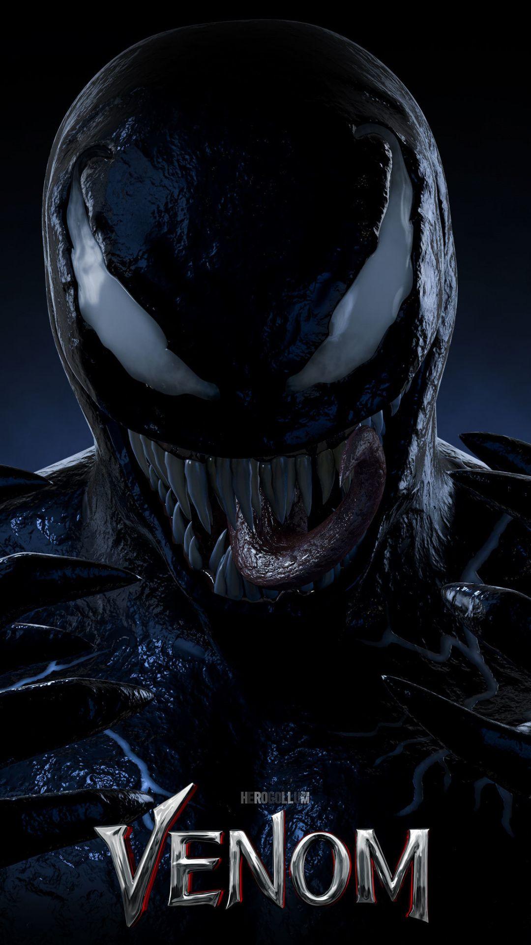 Villain, venom, supervillain, movie, poster, 1080x1920