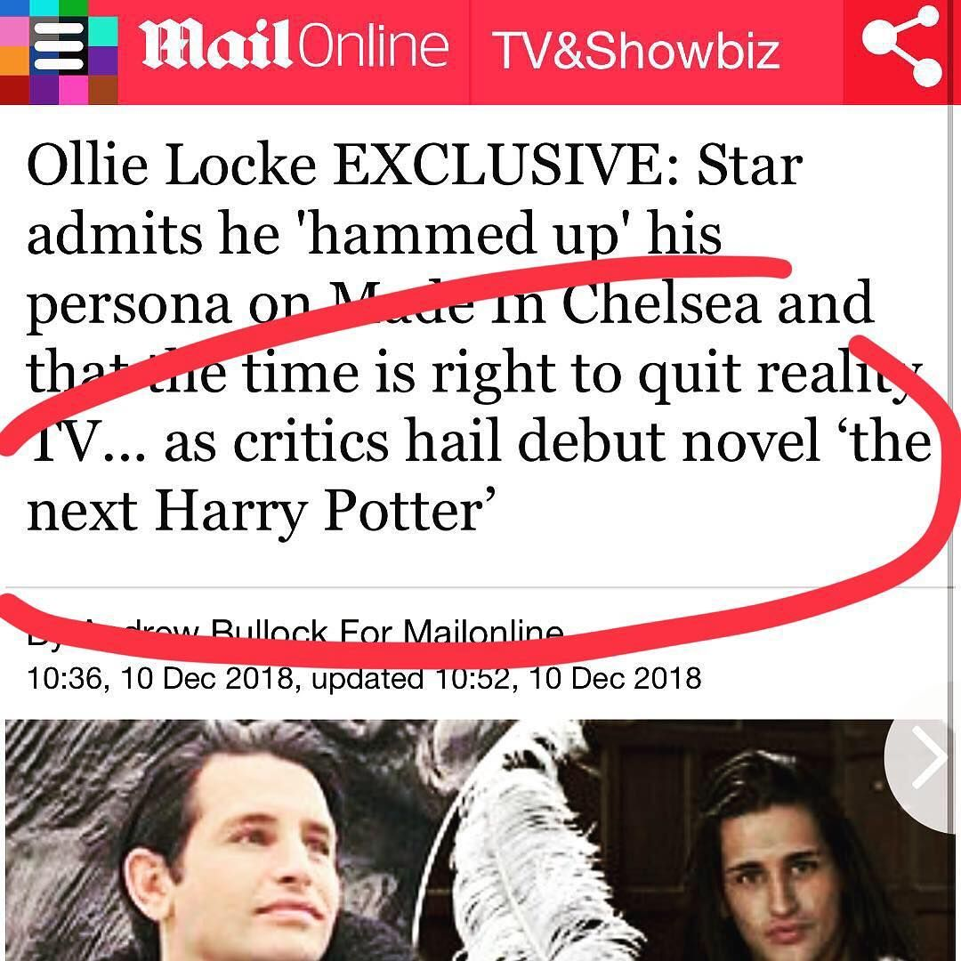 "Ollie Locke on Instagram ""I still can't quite get over"