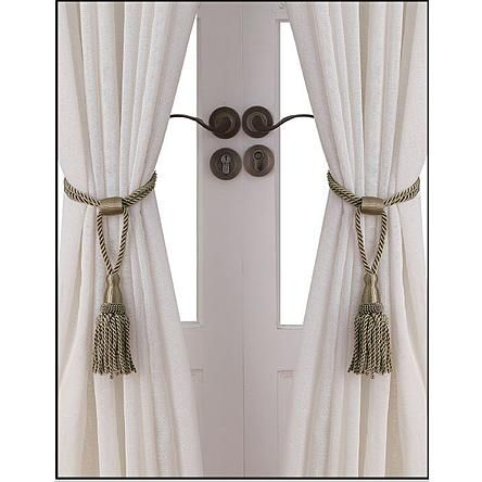Kmart Com Rope Tie Backs Curtain Ties
