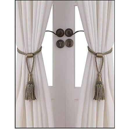Kmart Com Rope Tie Backs Curtain Ties