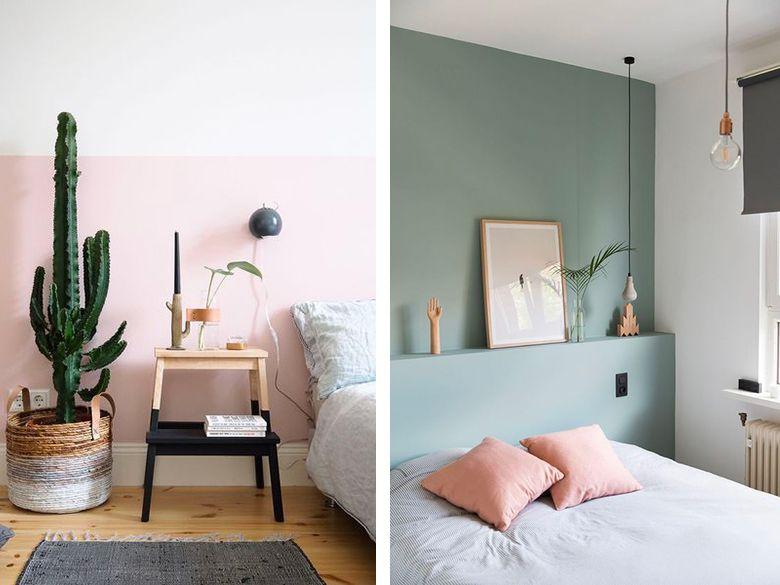 Habiller Les Murs Decoration Salon Vert Idee Couleur Chambre Et