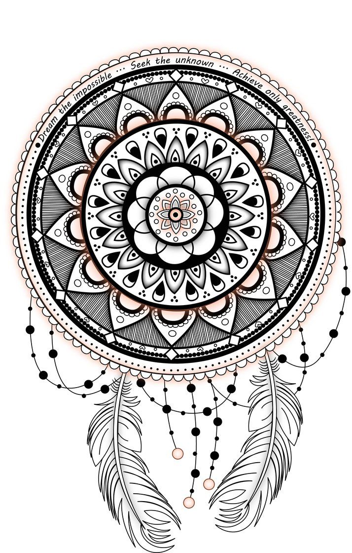 Image Result For Dreamcatcher Mandala Dream Catcher