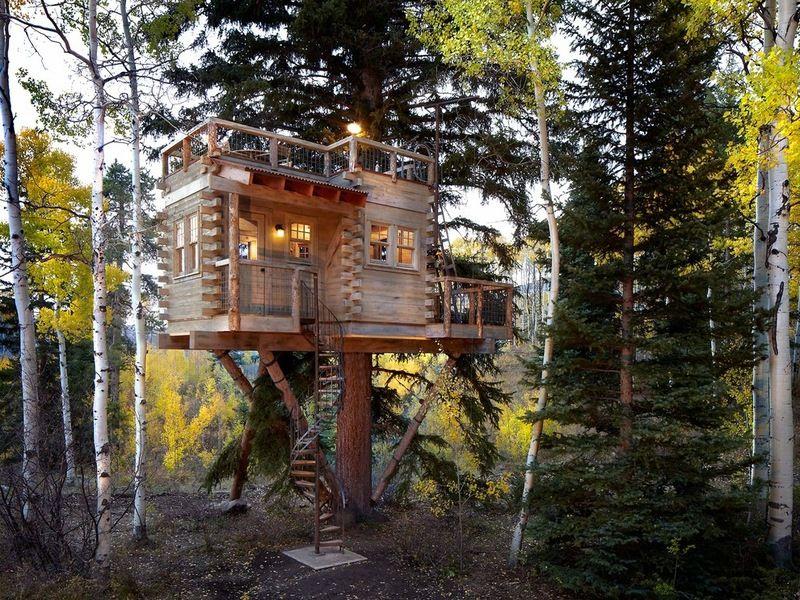 10 cool ideas for backyard retreats and playhouses tree houses rh pinterest com
