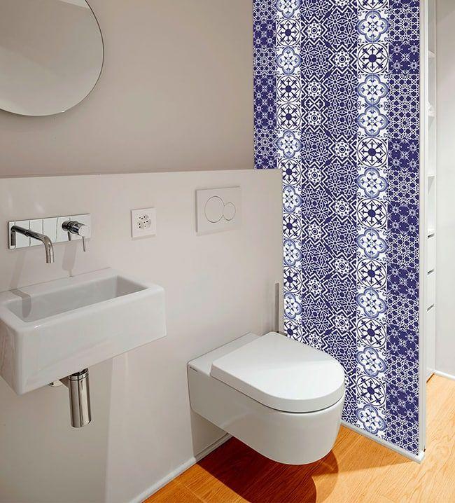 Azulejos low cost estos vinilos adhesivos sirven para decorar las paredes de la cocina o el - Vinilos low cost ...