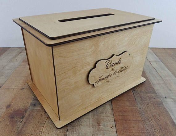 Wedding Card Bo For Reception Personalized Box Keepsake Wood We