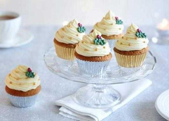 Christmas cupcakes recipe   Homemade