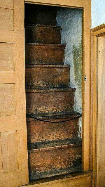Pocket Door Stair Attic Stairs Attic Staircase Staircase Design
