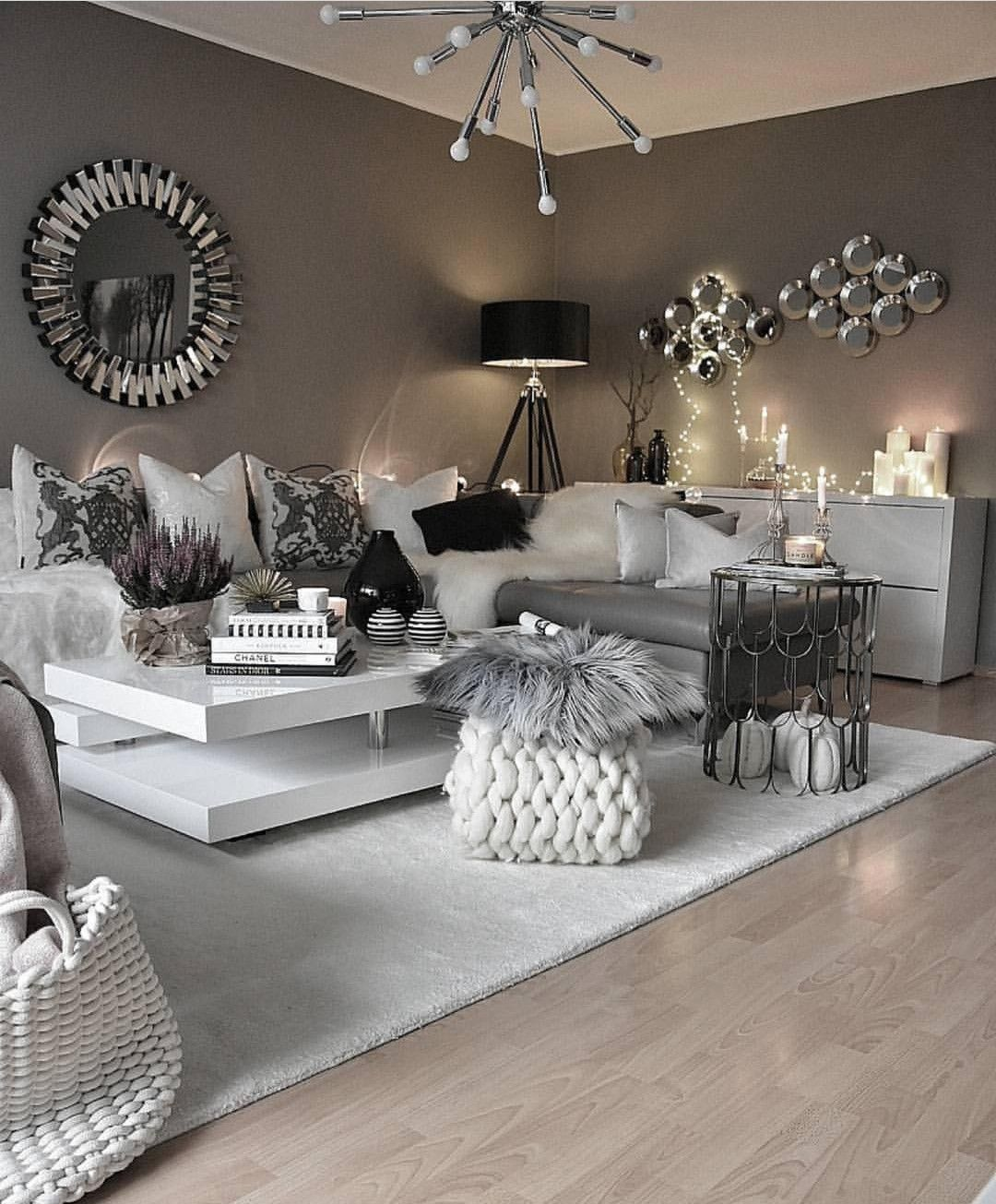 Pinterest Gaaabbriellaa Living Room Grey Black Living