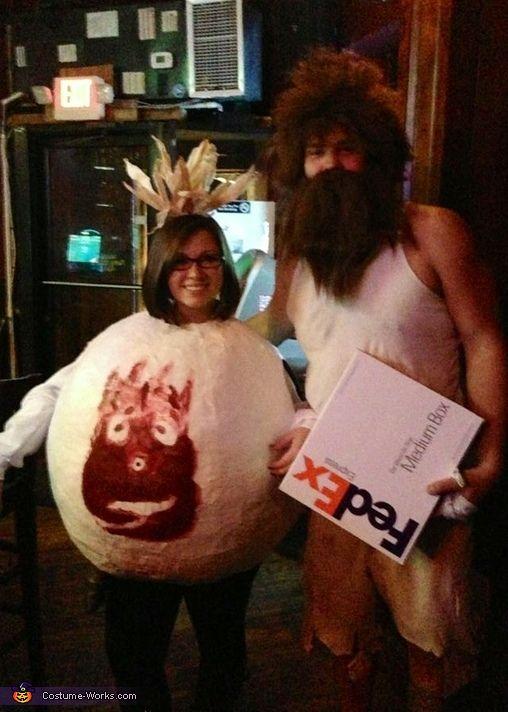 Cast Away Couple Costume Halloween costume contest, Costume