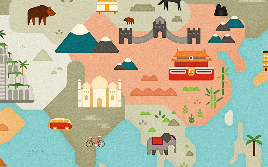 AirBnb World Map Andrea Nguyen AirBnb