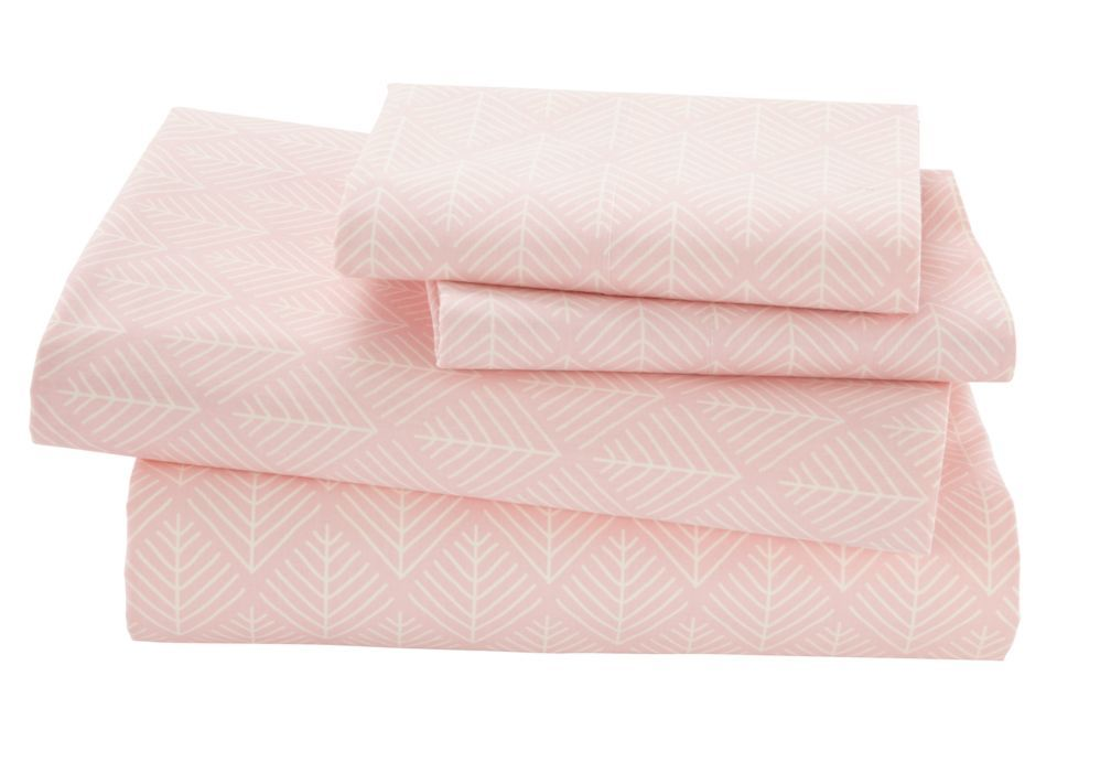 Shop Organic Well Nested Pink Full Sheet Set We Know A Well Rested Kid Means A Happy Grown Up That S Why We Ma With Images Organic Sheet Set Pink Sheet Set Kids