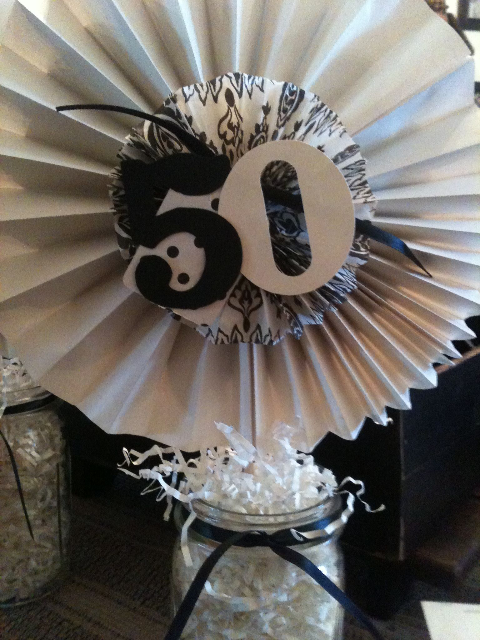 50th birthday party centerpieces i would change this up to fit a rh pinterest com