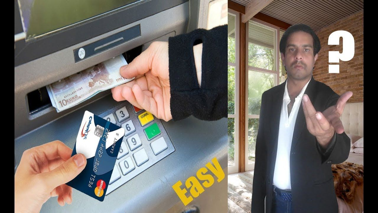 Pin on how to withdraw money from ATM