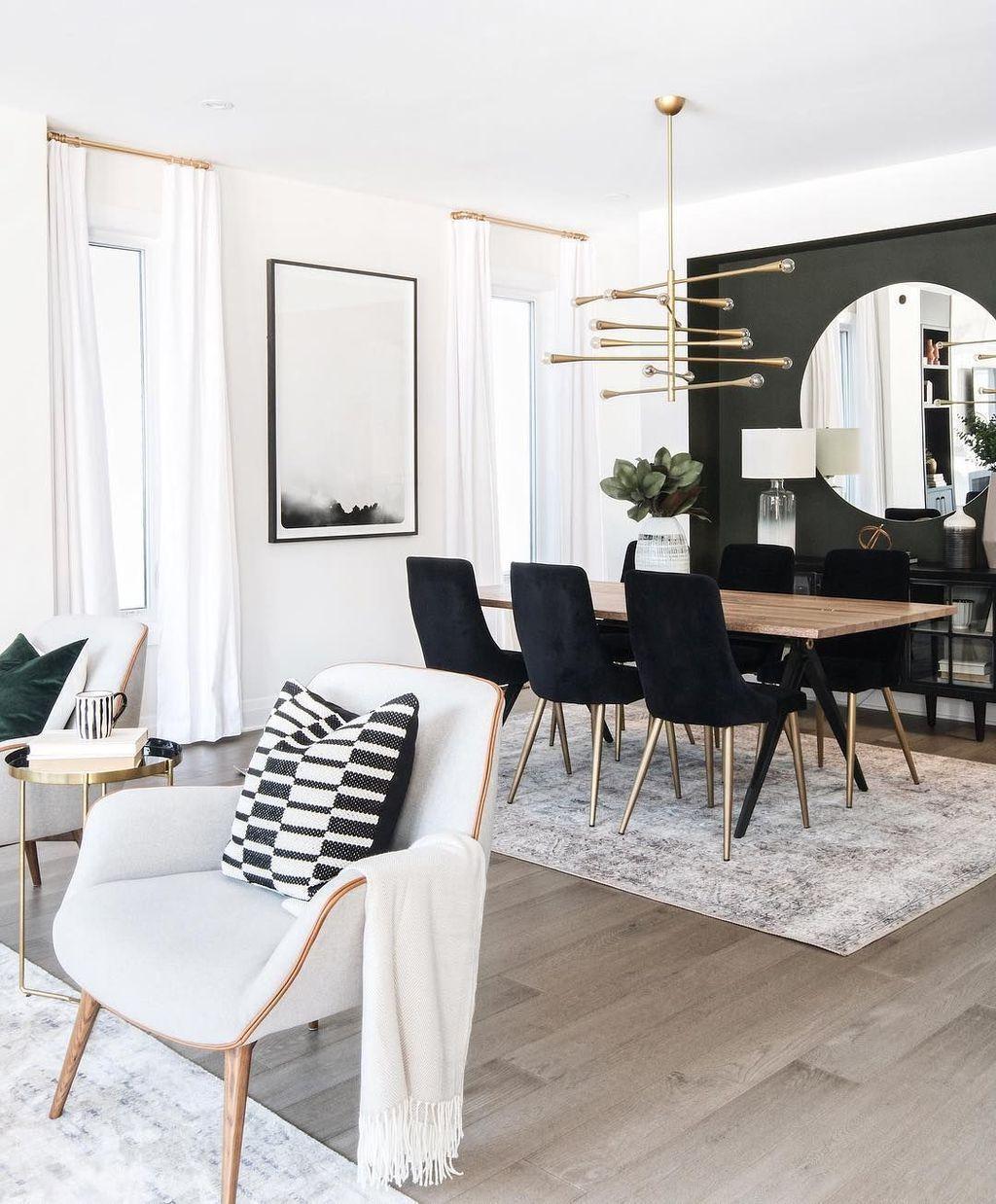 34 Inspiring Modern Dining Room Decor And Design Ideas Dining