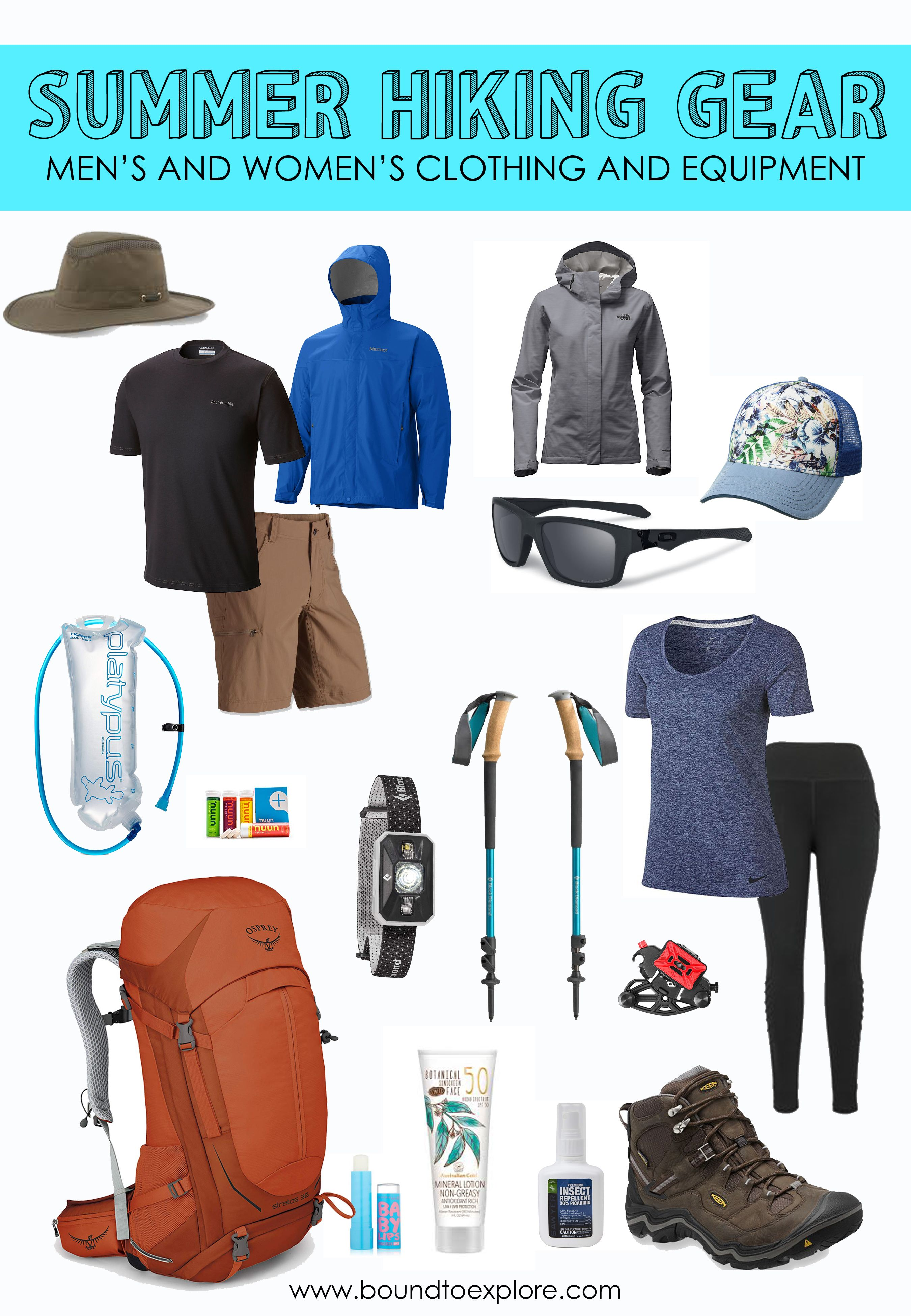 Essential Hiking Gear for Summer  Bound to Explore  Summer