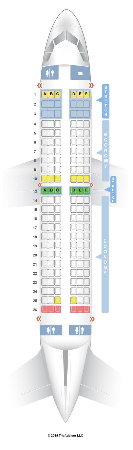 Seatguru Seat Map Frontier Airbus A319 319 Seatguru Airline Seats Boeing 737