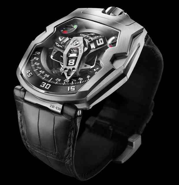 """The Urwerk UR-210 """"Maltese Falcon"""" Watch"""