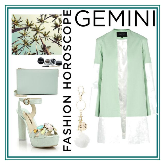 """Gemini"" by claudiaelezi ❤ liked on Polyvore featuring Charlotte Russe, Sophia Webster, Monserat De Lucca, fashionhoroscope and stylehoroscope"