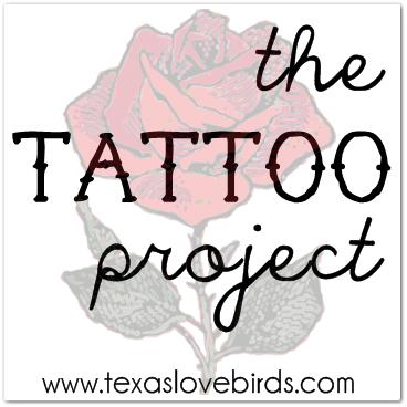 Goal: One thousand dollars & a BIG tattoo. The Tattoo Project