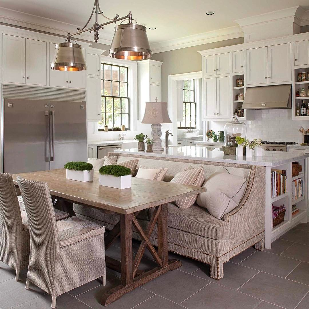 Pin By Jaana On My Dream Space Kitchen Cosy Kitchen Kitchen Design Kitchen Island With Seating
