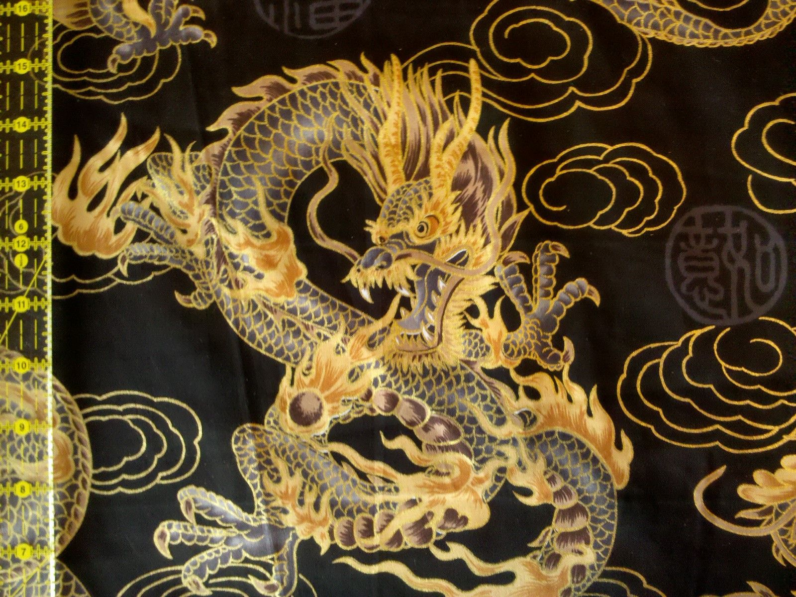 Year of the Dragon Fabric