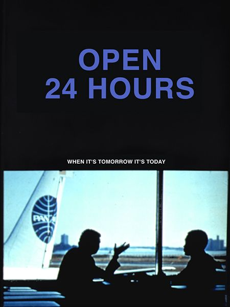 Barbara Bloom. Fake Travel Posters (Open 24 Hours), 1981 Archival digital print 30 x 24 inches Edition of 10