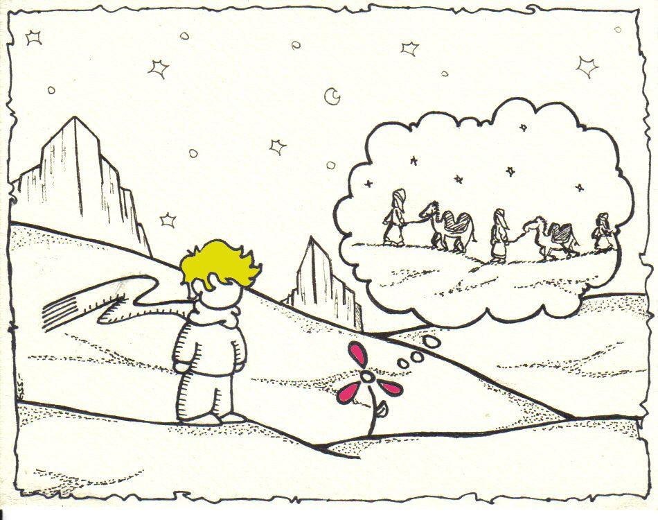 """La Flor de Tres pétalos"" Tontograve Ilustrador"