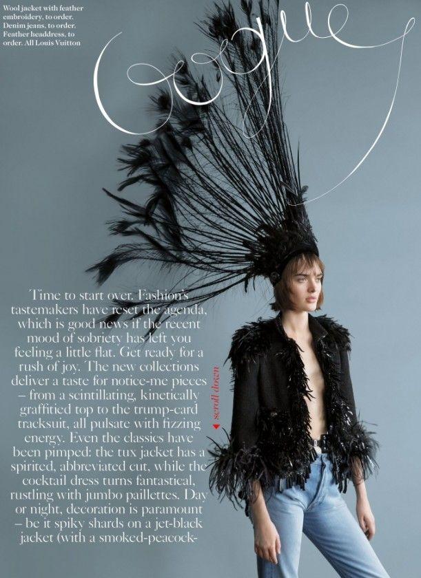 Vogue UK Fevereiro 2014