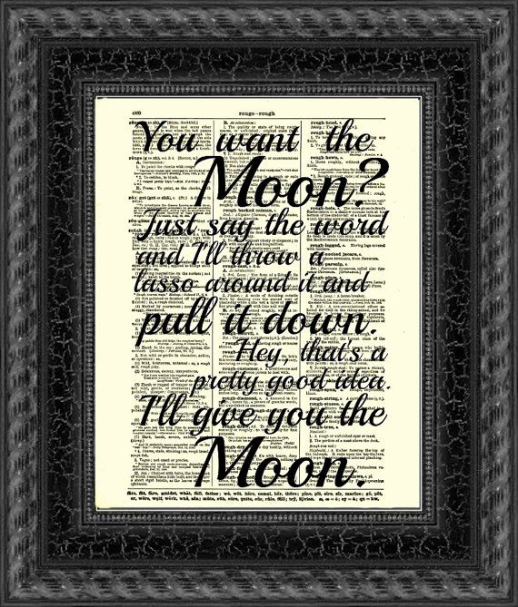 Lasso The Moon Its A Wonderful Life Quote By Reimaginationprints
