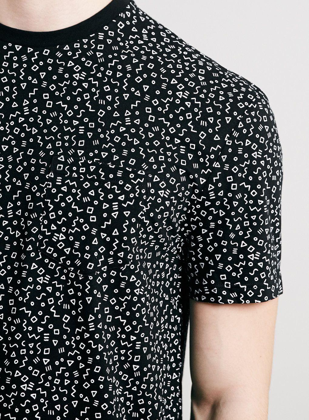 Photo 4 sur T-shirt noir avec motif Tiko Tako