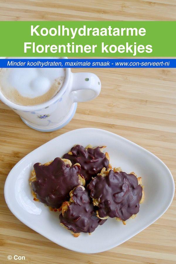 Koolhydraatarme Florentiner koekjes