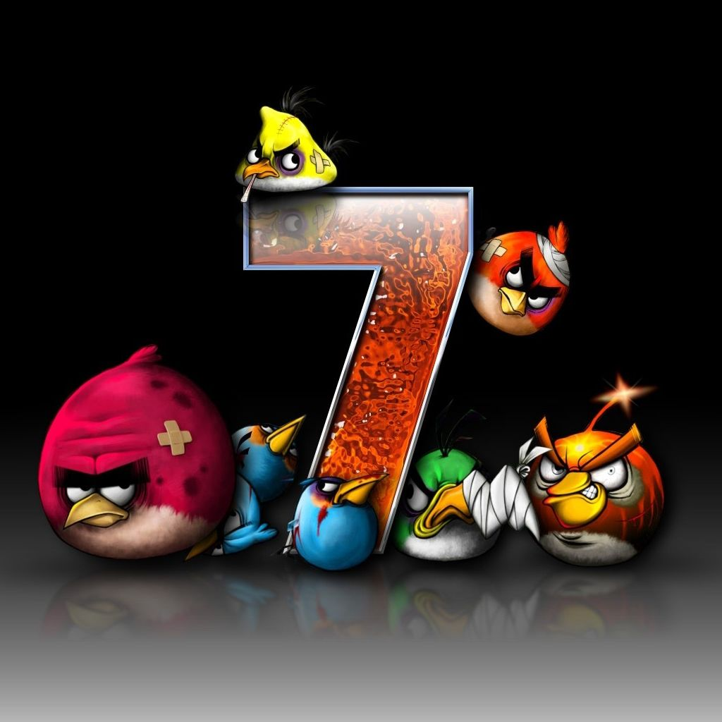 Angry Birds Game iPad Wallpaper | Recipes | Bird wallpaper ...
