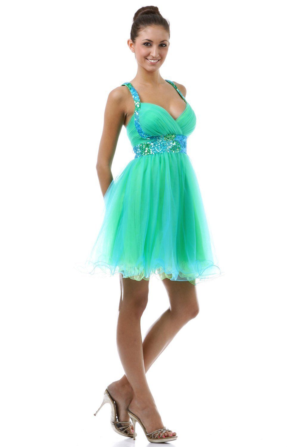 Short Cocktail Party Junior Prom Dress #2657 | Short Prom Dresses ...