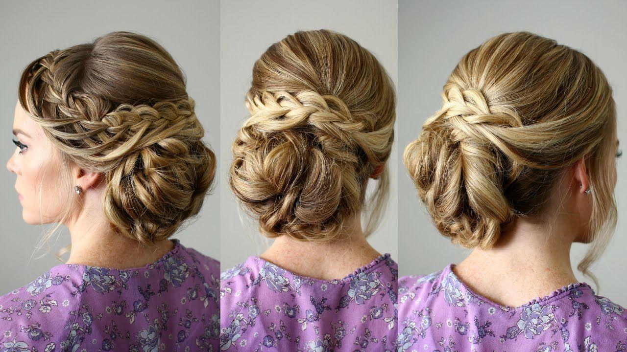 Looped braid updo dance hairstyle braids my favorite mentors