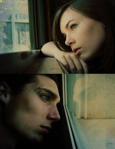 """euusinto: """"     É possível que duas pessoas se amem e não seja suficiente? """""""
