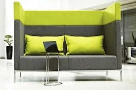 office couch - I like the tall back for privacy