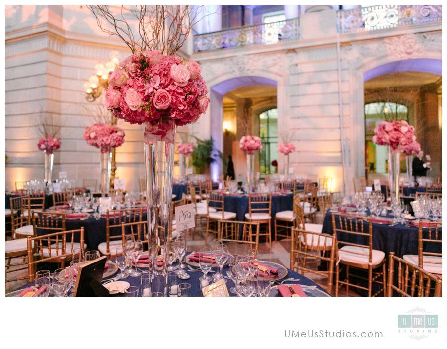 San Francisco City Hall Wedding Reception Decor U Me Us