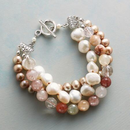 Violetta Bracelet-bohemian Pearls-Boho-gift idea for You