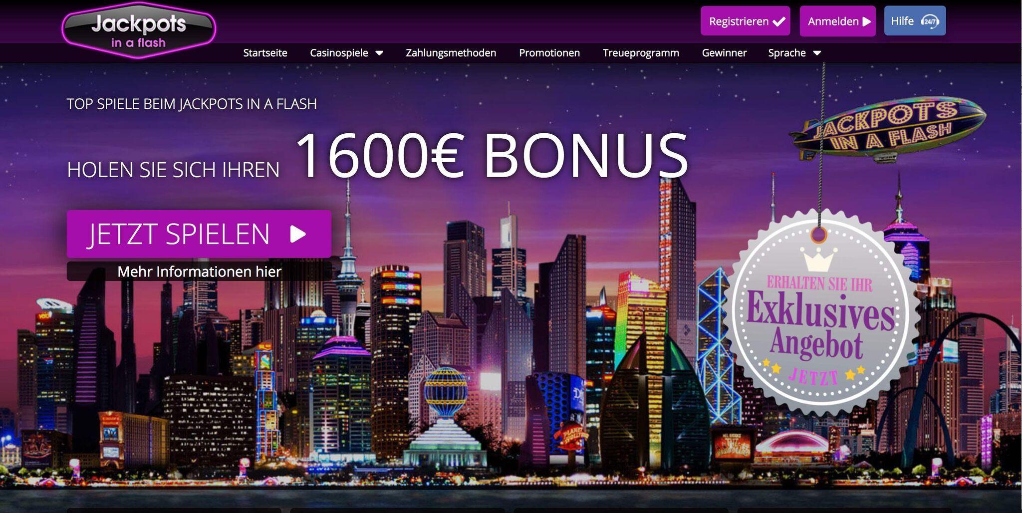 Online casino seriös city