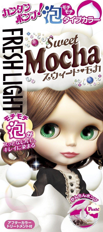 Fresh Light Awa Type Foam Hair Color Sweet Mocha Products